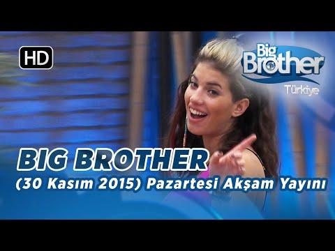 Big Brother Türkiye (30 Kasım 2015) Pazartesi Akşam Yayını İzle