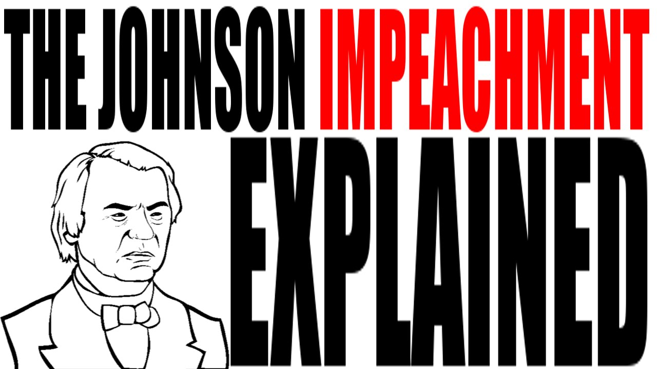 a report on the impeachment of andrew johnson Travel back with hiphughes and take a whack at andrew johnson why was andy impeached and why the hell is edwin stanton barricaded in his office click to fi.