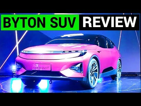 Byton Electric Car Review: SUV of the Future