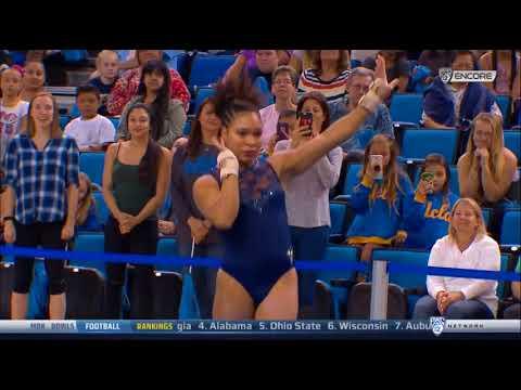 Janay Honest (UCLA) - Encore Floor Exercise - 2018 Meet The Bruins