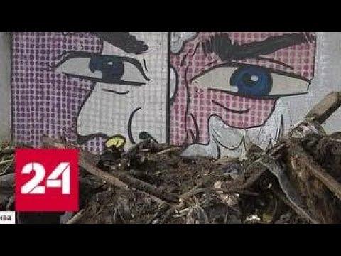 Природную зону Крылатского завалили мусором за одну ночь - Россия 24