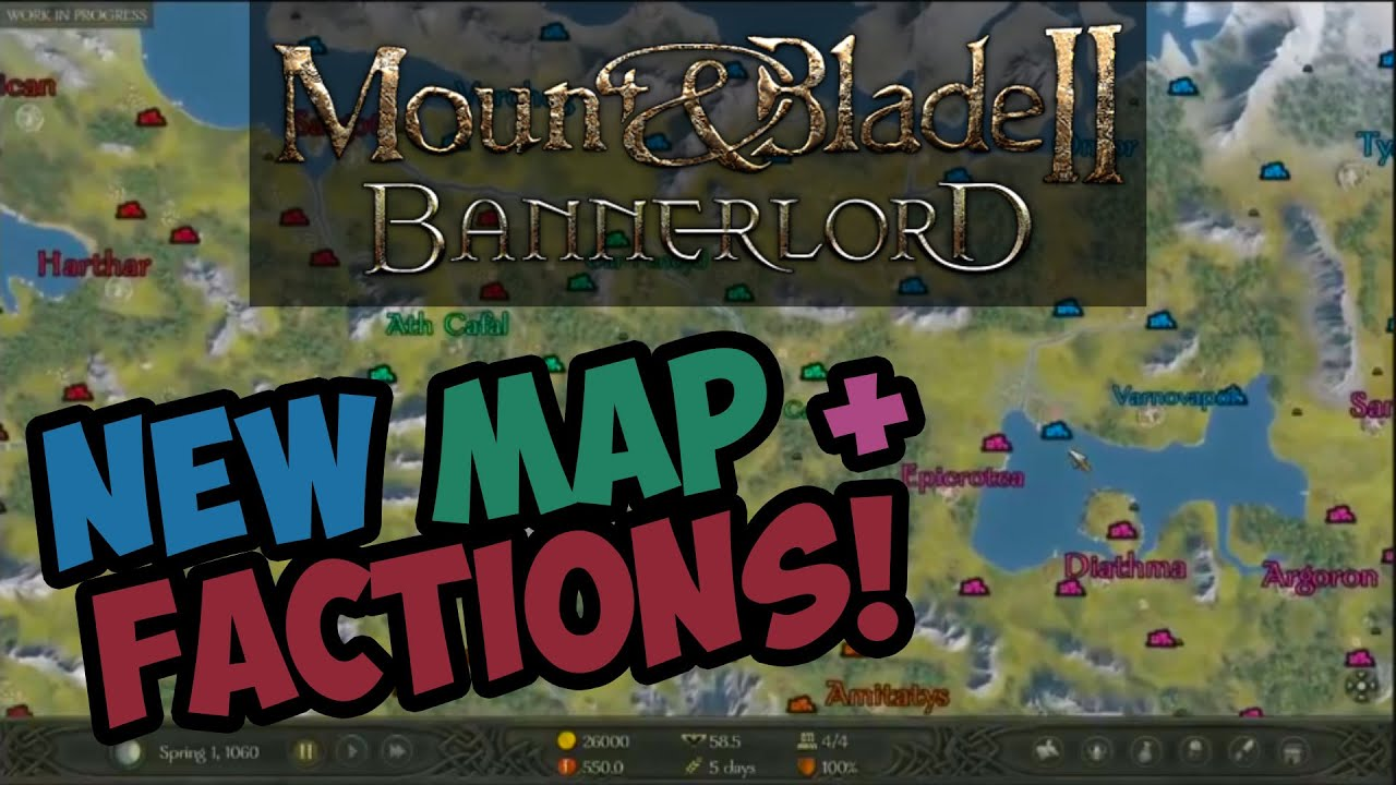 Mount and blade 2 bannerlord new map factions youtube gumiabroncs Choice Image
