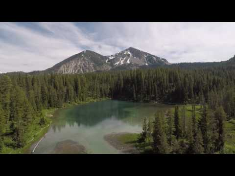 Murphy Lake, Wyoming with Jesse's drone