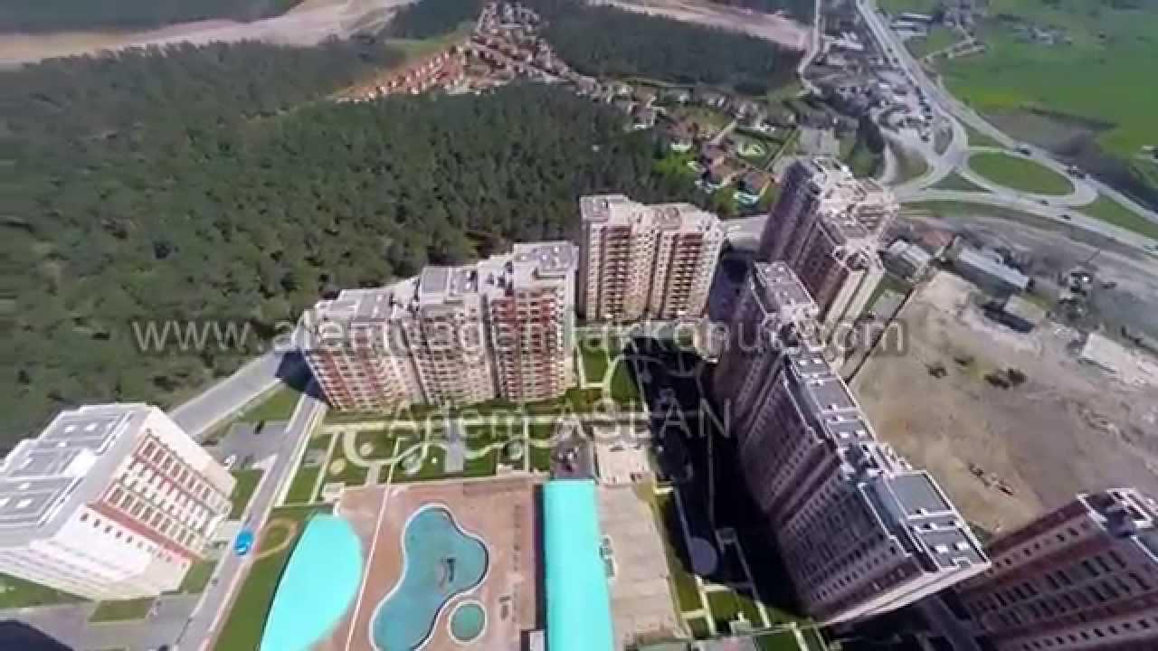Alemdağ Emlak Konutlari Havadan Emlak Video Mart 2014 Youtube
