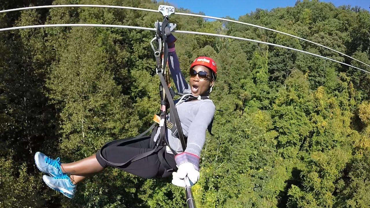 Navitat Canopy Adventure Zipline Asheville NC 2015 - GoPro Hero 3+ & Navitat Canopy Adventure Zipline Asheville NC 2015 - GoPro Hero 3+ ...