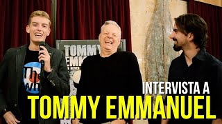 LIVE IN BOLOGNA intervista Tommy Emmanuel (Teatro Duse Bologna, 5/10/2016)