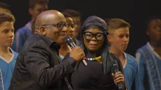 THE LION KING - Lebo M performs at the London 20th Anniversary