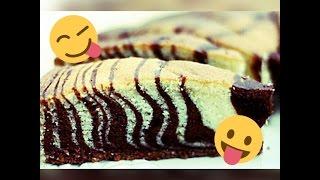 Как сделать торт ''Маник зебра''