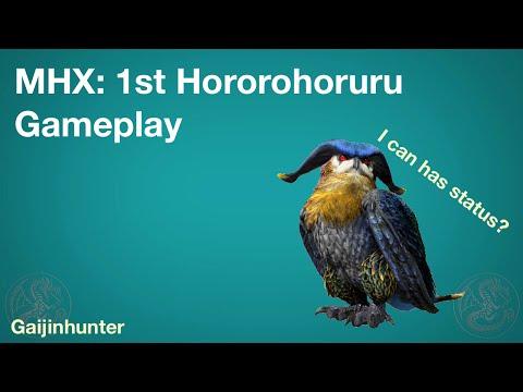 MHX: 1st Hororohoruru Gameplay [08.19.15]
