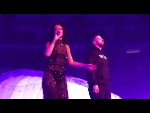 Rihanna ft. Drake - Work - One Dance - Jumpman (Live on the Anti-Tour in Toronto 2016)