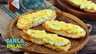भरवां हॉट डॉग रोल रेसिपी (Stuffed Hot Dog Rolls, Recipe) by Tarla Dalal