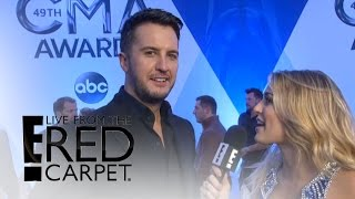 Luke Bryan Reacts to Shelton & Stefani Dating