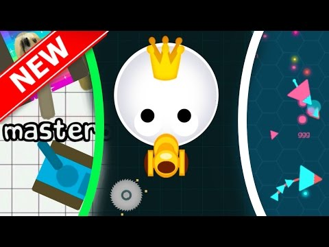 BEST 3 NEW .IO GAMES | Agar.io With Guns / Slither.io With Guns / Diep.io Without Upgrades!!