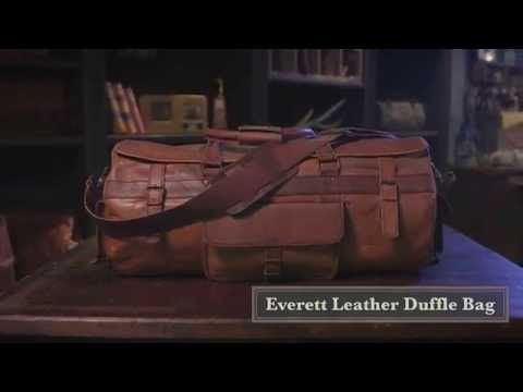 Everett Travel Duffle Bag By Buffalo Jackson