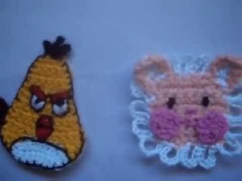 Crocheting Youtube Videos : APLICACIONES CROCHET - YouTube