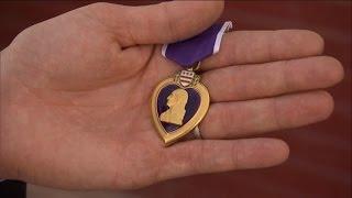 Purple Heart Returned to Brave Veteran