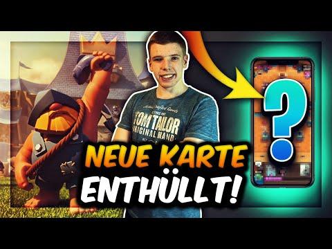NEUE KARTE ERSTMALS ENTHÜLLT! | NEUES UPDATE SNEAK PEEK! | Clash Royale Deutsch
