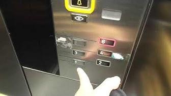 Very Nice 1992 KONE M Traction Elevator @ Salomonkatu/Salomonsgatan 1, Helsinki/Helsingfors, Finland
