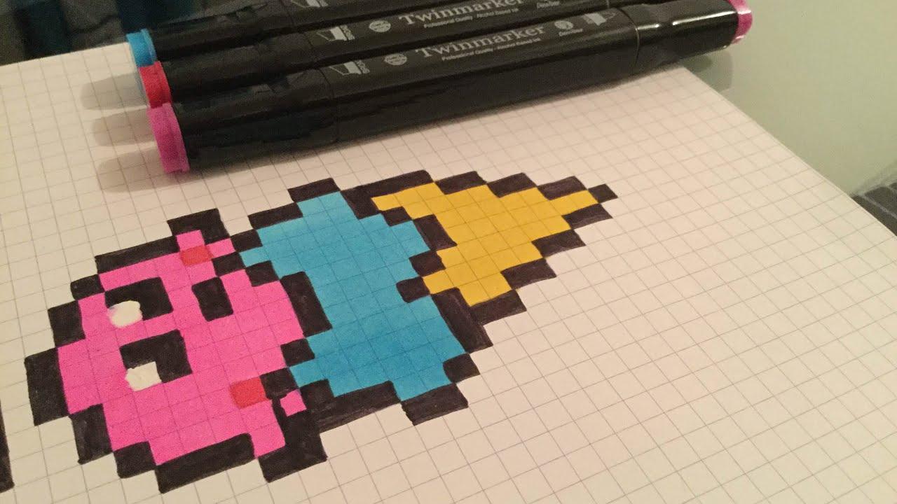Dessin Dune Glace Pixel Art