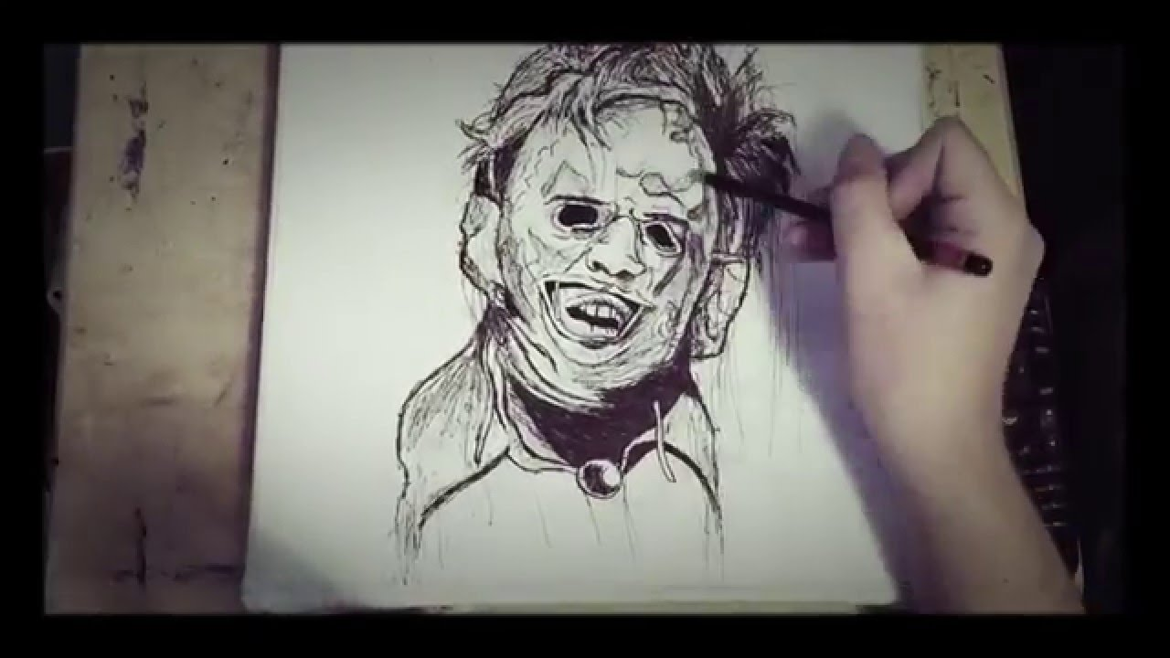 Related Keywords & Suggestions for leatherface drawings