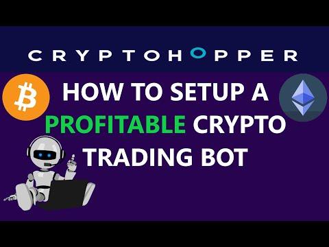 How to Setup A Profitable CryptoHopper Automated Bitcoin Crypto Trading Bearish Bullish EMA Strategy