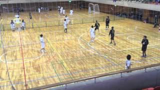 2016年02月14日 坪田杯 予選 Nagano Yeti トニセン VS 長野大学 前半 ハンドボール