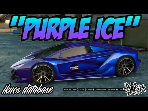 gta online rare modded rgb car colours best colour series purple ice youtube. Black Bedroom Furniture Sets. Home Design Ideas