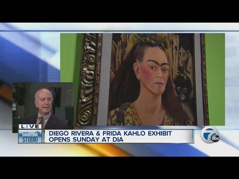 Diego Rivera and Frida Kahlo exhibit opens Sunday