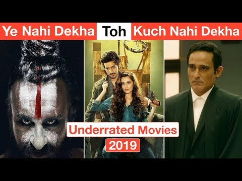 10 Most Underrated Bollywood Movies Of 2019 You Completely Missed | Deeksha Sharma