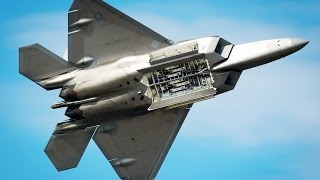 Extremely Powerful F-22 Raptor in Action - Insane Takeoff • High-Speed • Sonic Boom u0026 Flight