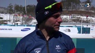 Biathlon / L'émotion de Benjamin Daviet pour sa première médaille d'or - Jeux Paralympiques