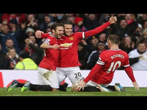 Manchester United vs Liverpool 3-0 | Rooney, Mata, Van Persie Destroy Liverpool