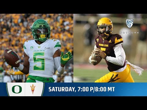 Oregon-Arizona State football game preview
