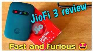 Network speed ഇനി പറക്കും.🚀 JioFi 3 review.. 🤩🤩