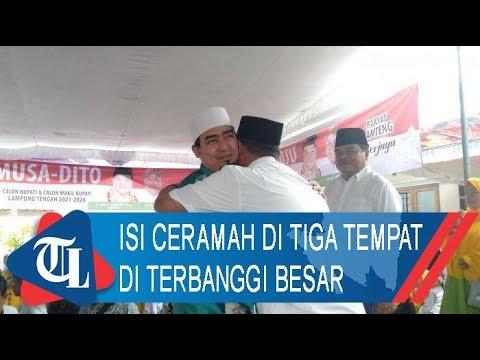 Ustaz Solmed Isi Ceramah Di Terbanggi Besar | Tribun Lampung News Video