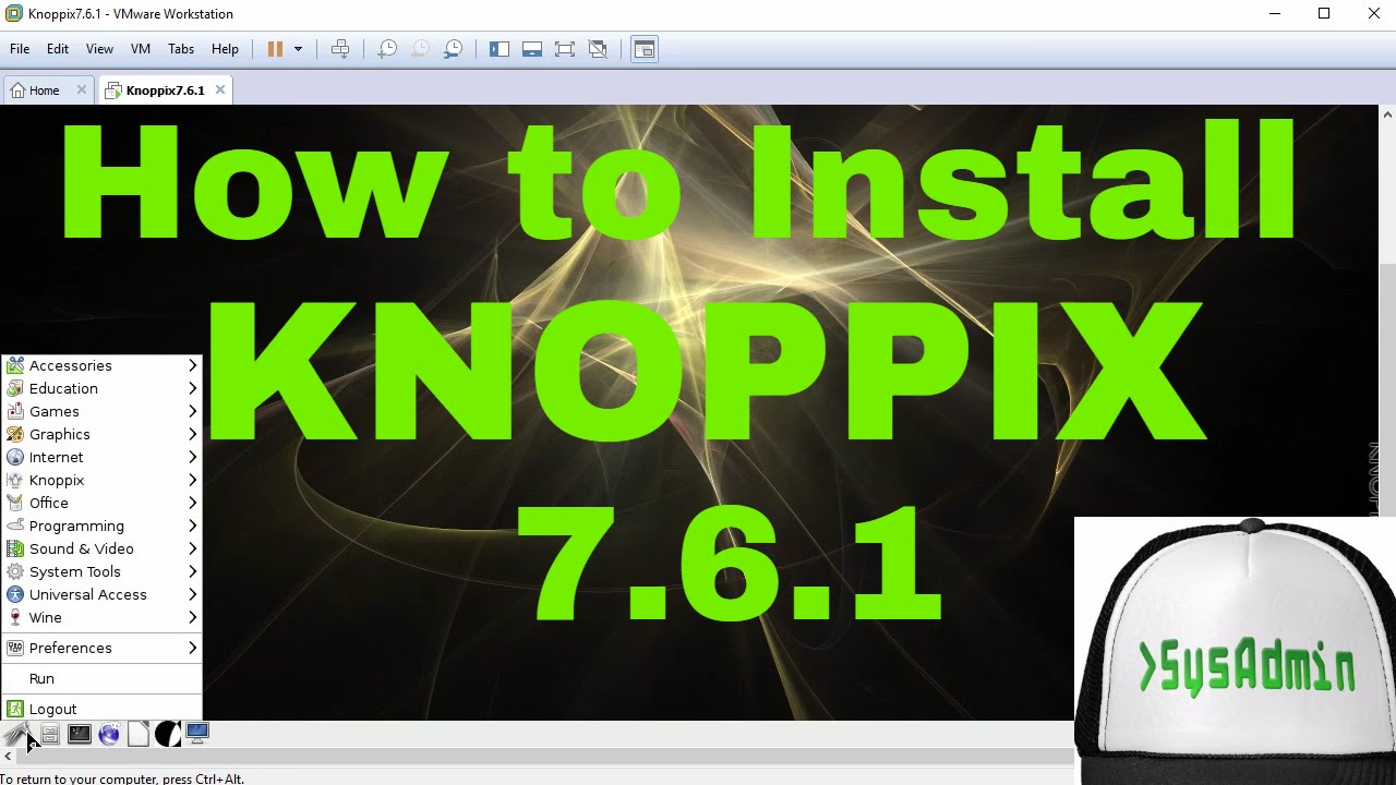 How to Install KNOPPIX 7 6 to Hard Disk or USB Flash Drive using