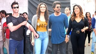 Repeat youtube video Bollywood Celebs INSIDE Mehboob Studio - Shahrukh Khan,Kajol,Alia,Hrithik,Jacqueline,Dia Mirza
