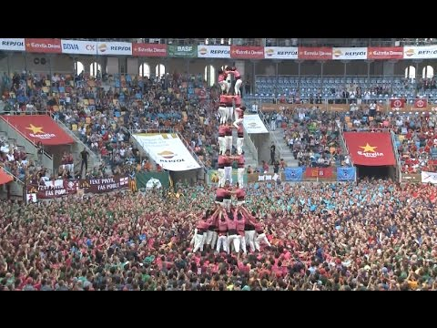 Chinese Team Participates in Tarragona Human Tower Building Contest