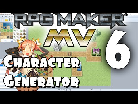 RPG Maker MV Tutorial #6 - The Character Generator