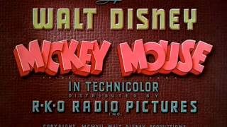 "Mickey Mouse -""The Little Whirlwind""-(1941) - recreation titles"