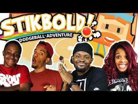 THIS GAME IS BACK WITH A VENGEANCE!  EPIC DODGE BALL MATCH! - Stikbold Gameplay