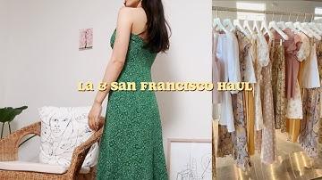 미국 쇼핑 하울! (핫한 미국 브랜드/미국 아울렛/티파니앤코) LA & 샌프란시스코 쇼핑 haul