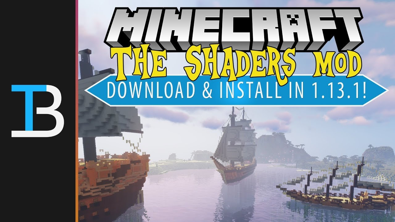 How To Download & Install Minecraft 1.13.1 Shaders (Get Minecraft Shaders in 1.13.1!)