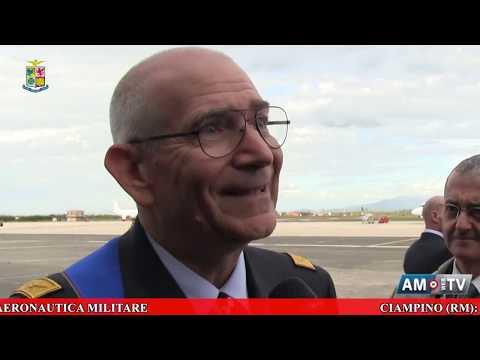 Video News Aeronautica Militare - Il Generale di Squadra Aerea Alberto Rosso è il nuovo Capo di SMA