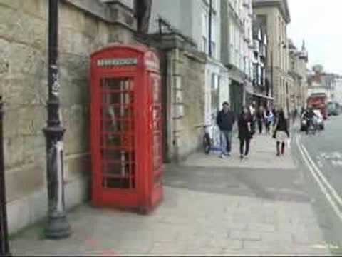 The Magic Phone box in Oxford