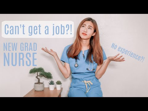 How To Get A Job As A New Grad Nurse (No Job Experience?!)