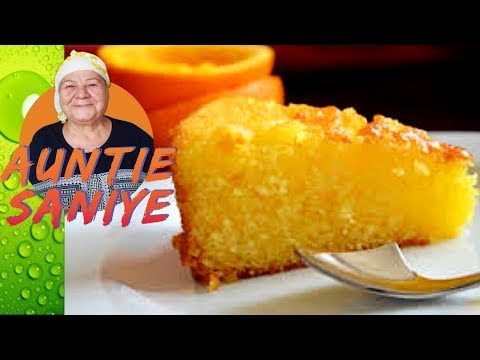 Orange Cake with Fresh Orange Syrup
