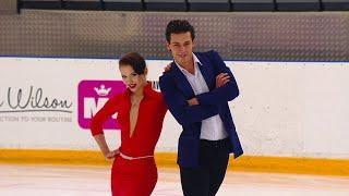 Аннабель Морозова Андрей Багин Ритм танец Танцы на льду Кубок России по фигурному катанию