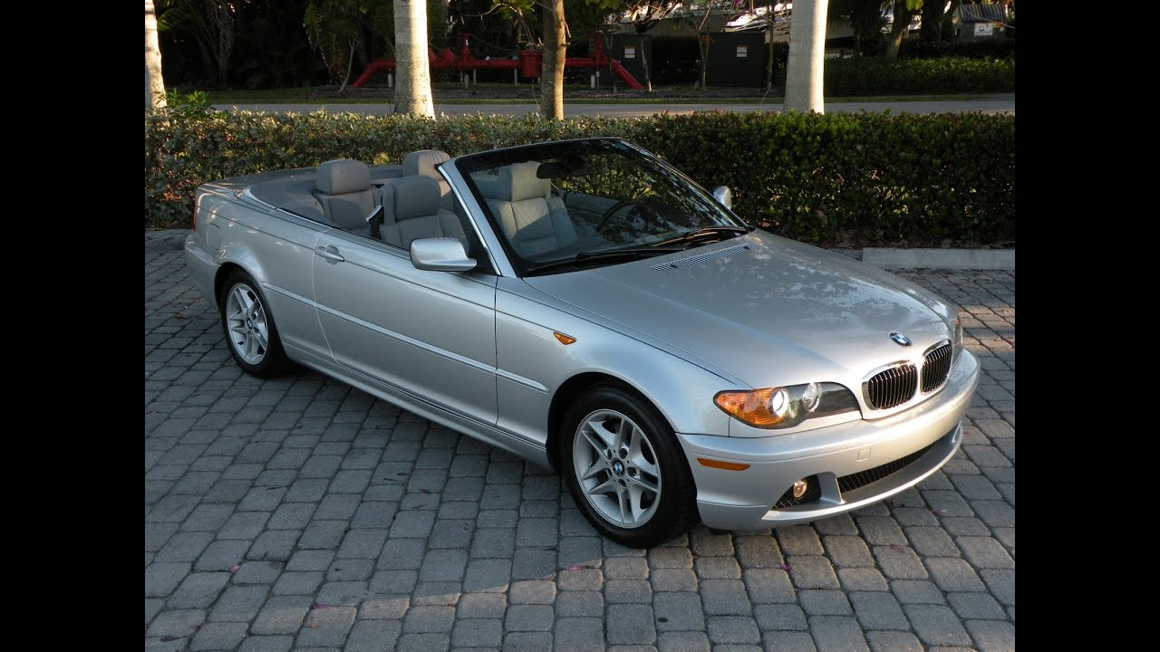 2004 Bmw 3 Series 325ci Convertible For Sale In Fort