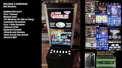 DIY Slot Machine : Cabinet + Novomatic Gaminator Multi Game Emulator.